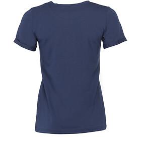 Triple2 Laag Handwrite T-Shirt Women Peacoat
